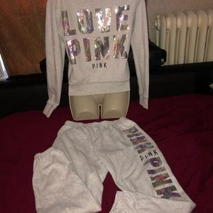 VS Pink  EXTREMELY RARE Iridescent Matching Set